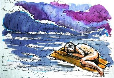 Náufragos que Navegam Tempestades